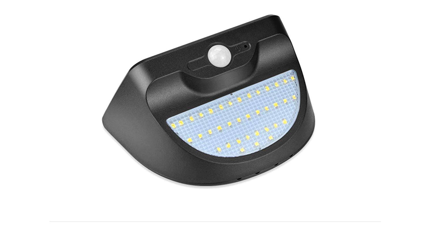 LED Wall Light, LED Street Lights Dusk to Dawn, AIMENGTE Solar Powered LED Security Lights Motion Outdoor, 37 LEDs 350lm Landscape Lighting Pathway Night Emergency Lamp IP65 Waterproof.