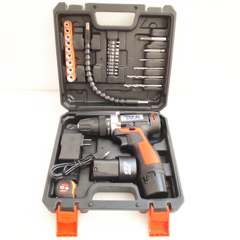 Dza Power Tool 10.8v Rechargeable Electric Machine Set Mini Screwdriver Cordless Drill Batteries 12 cordless drill
