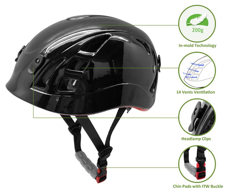 2019 In-mold Climbing Kids Safety Helmet 7