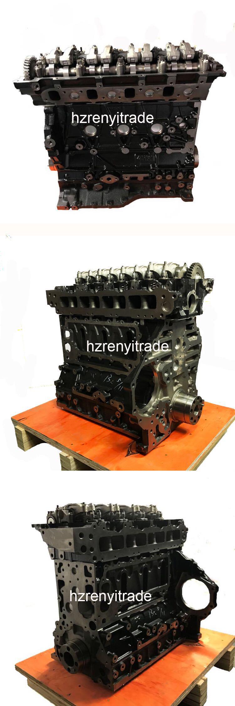 ZAX 240-3 ショベル自動車エンジン 4HK1 エンジン掘削機のシリンダーロングブロック assy 8982069651 8-98206965 -1