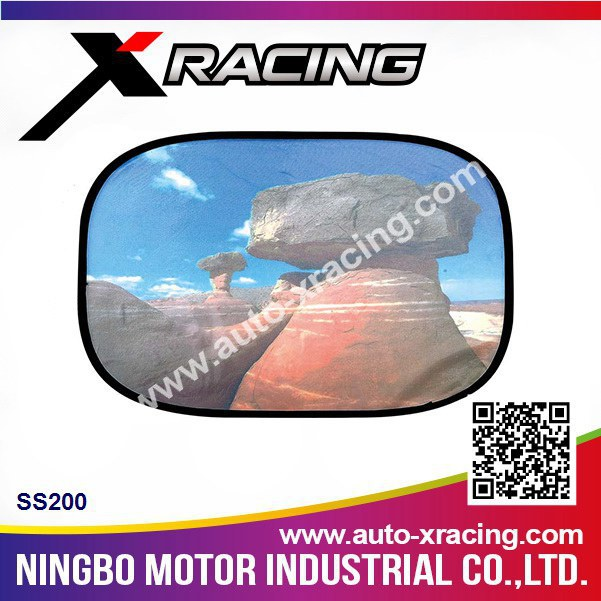 Xracing-SS200 car sun shade,unique sunshades,sun shade for car