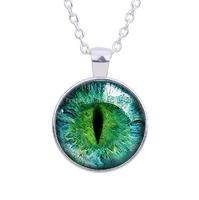 2016 retro pendant necklace jewelry evil eye design necklace