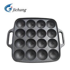 Cast Iron Pre-seasoned Cake Mould/Bakeware Cast Iron Muffin Pan