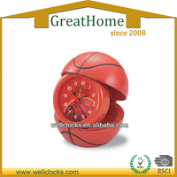 update design basketball shaped ,photo frame table alarm clock