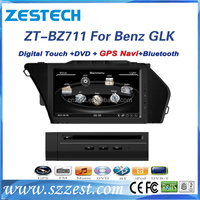 New price car audio mp3 usb player For Mercedes Benz GLK with bluetooth radio cd dvd am/fm RDS touch screen monitor