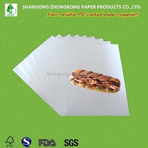 Good quality MG white sandwich paper