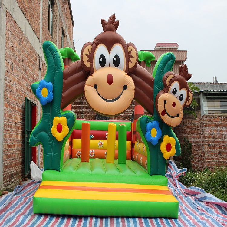 hot inflatable christmas Cartoon character bounce house