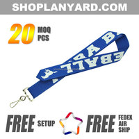 New style custom bulk corporate lanyards for trade show