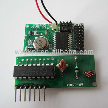 315/433mhz rf wireless transmitter and receiver module