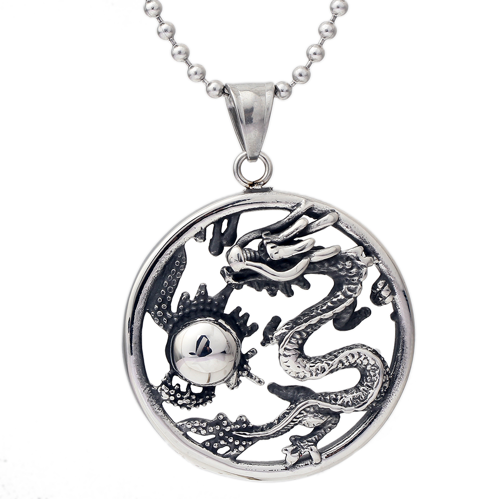 Wholesale Pendant Necklace High quality Song of Ice and Fire Game of Thrones Targaryen Dragon Badge Pendant Necklace фото