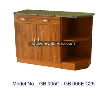 Wooden Pvc Base Kitchen Cabinets Cupboard For Home Furniture Buffet Cabinet