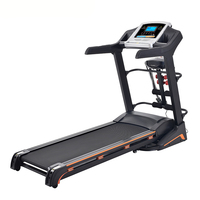 Hot sale sport equipment training 3hp semi commercial treadmill