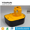 New 12V Ni-mh 2.5Ah Replacement Power Tool Rechargeable Battery Packs for Dewalt Cordless Drill DW9071 DW9072