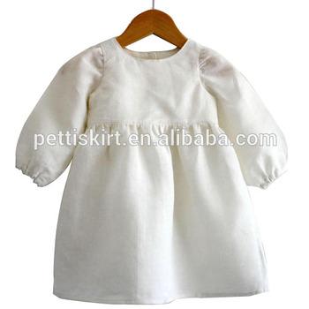 ganz nett Schnelle Lieferung moderate Kosten Boutique Kleinkind-mädchen 100% Leinen Kleid Kinder Kleidung Weiß Leinen  Kleider - Buy Weiß Leinen Geburtstag Kleid,Einfache Weiße Kleider Für ...