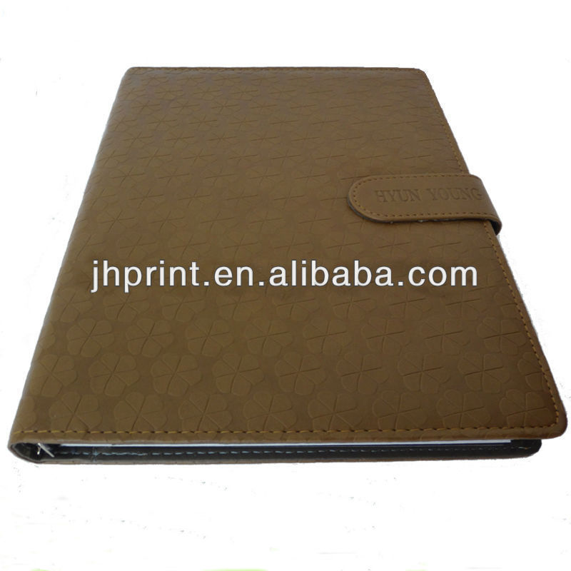 Fashional PU Notebook,2014 Notebook Printing Service