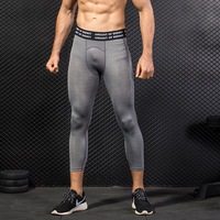 Whosale Mens Workout Training Base Layer Men Dry Fit Gym Wear Fitness Compression Tights
