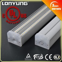 44W 1.8m/6ft V-TYPE Double LED T 5 Integrated Light ETL,DLC,TUV,SAA,CE instant fit led tube