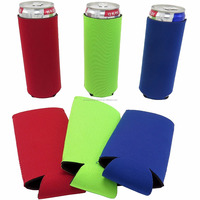 Neoprene Slim Beer Can Sleeve Neoprene Beverage Drink Soda Can Cooler Holder