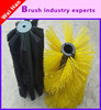 spiral road sweeper brush