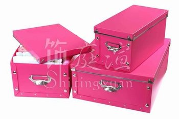 2016 New Design Plastic Storage Box For Clothing With Lid