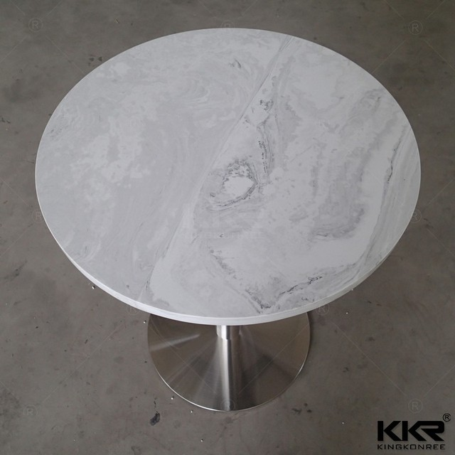 50mm Round Stone Table Top/ Stone Concrete Dining Table