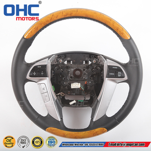 Hot Sales Wood Steering Wheel Compatible with Honda Odyssey EX-L OHC Motors