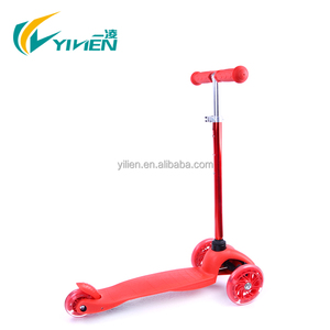 children push scooter with three wheel for promotion
