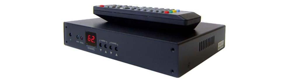 RF Coax To HDMI DVI Demodulator TV Tuner For PAL B/G System