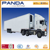 2/3 Axles truck van for electric appliance/textile goods/coal/dinas transportation with open type optional