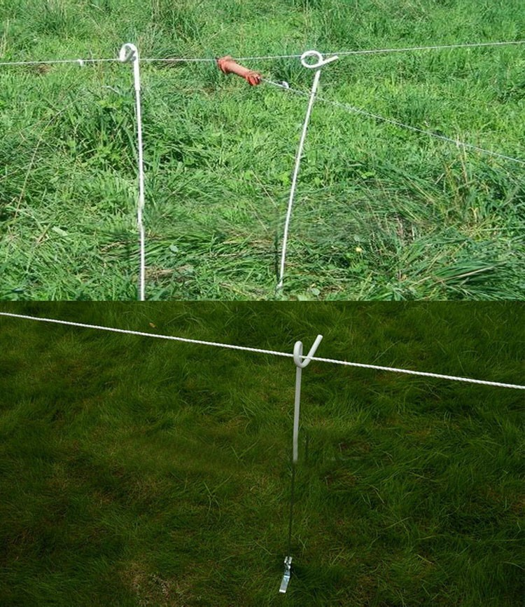Hotline Rabbit & Garden MLD-056 Plastic Electric Fence Posts
