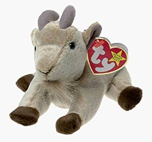 8d074f28b12 Buy TY Beanie Babies Goatee the Goat Plush Toy Stuffed Animal by ...
