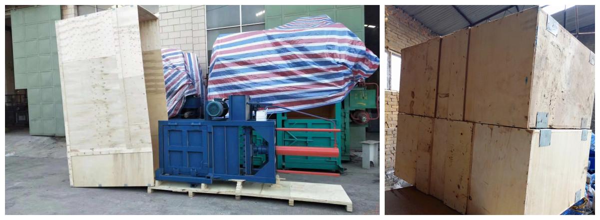 100DC hidráulica reciclaje vertical empacadora/lana empacado de prensa/máquina de película de plástico empacadora