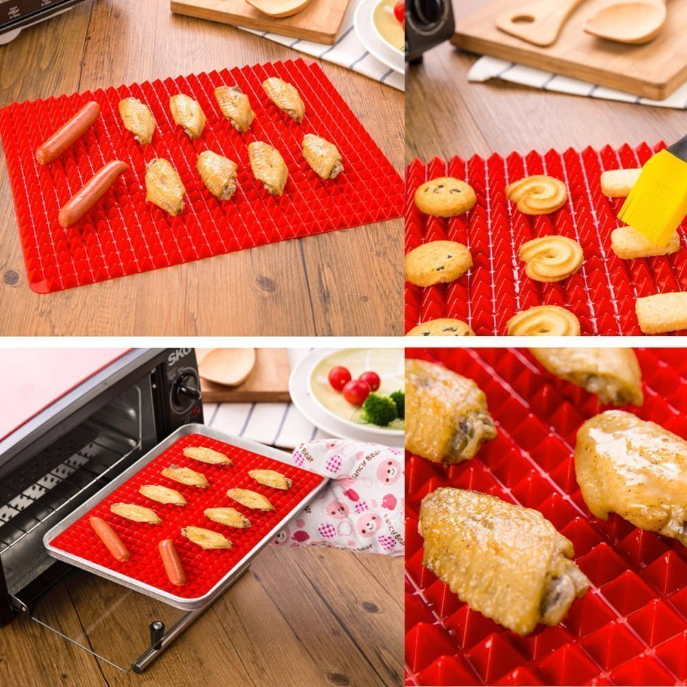 healthy chef baking mat pyramid pan silicone backing mat wholesale