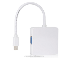 <span class=keywords><strong>3</strong></span> in 1 Thunderbolt Mini displayport DP ZUM <span class=keywords><strong>HDMI</strong></span> <span class=keywords><strong>DVI</strong></span> VGA Display Port Kabel <span class=keywords><strong>Adapter</strong></span>