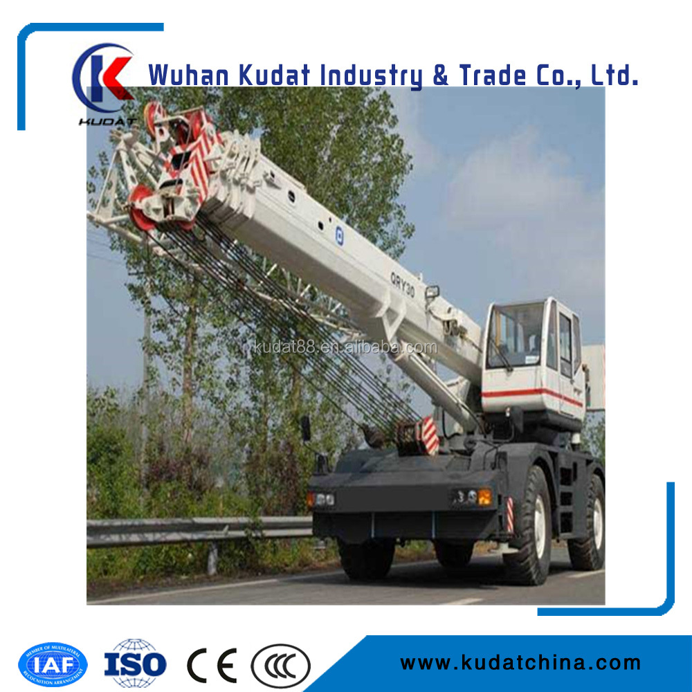 36m lifting height All terrain crane 30T KDRY30 for sales