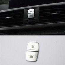 Автомобильный Стайлинг интерьера кнопки декоративное покрытие отделка консоль наклейка на коробку передач для BMW 1 2 серии Coupe F22 F20 F52 авто ак...(China)