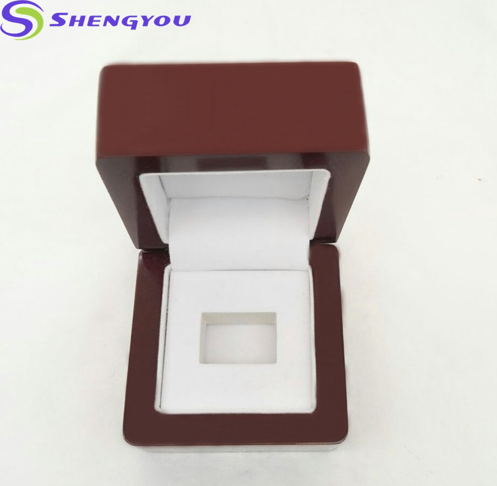 Wholesale Luxury Packing Jewelry Boxes Wood Championship Ring Box