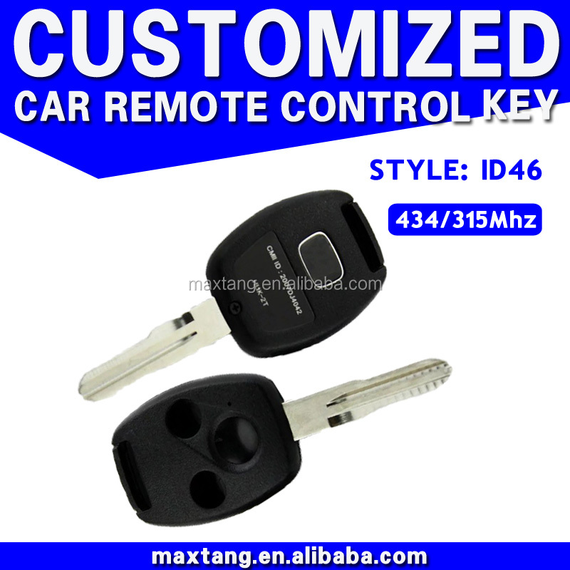 New Keyless Entry Remote Car Key Fob For 2005-2008 Honda Replace Car Key MTF-100409 T