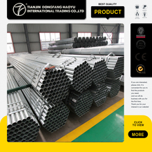 Unique Selling Point Q215 Q235 Q195 Pre-Galvanized ERW Steel Pipe