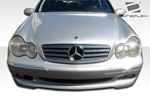 2001-2004 Mercedes C Class W203 Duraflex CR-S Front Lip Under Spoiler Air Dam (non sport package) - 1 Piece (clearance)