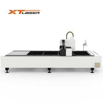 XT-LASER 3 years warranty laser cutting machine wifi wireless control electric claim for sheet metal&tube cutting surprise