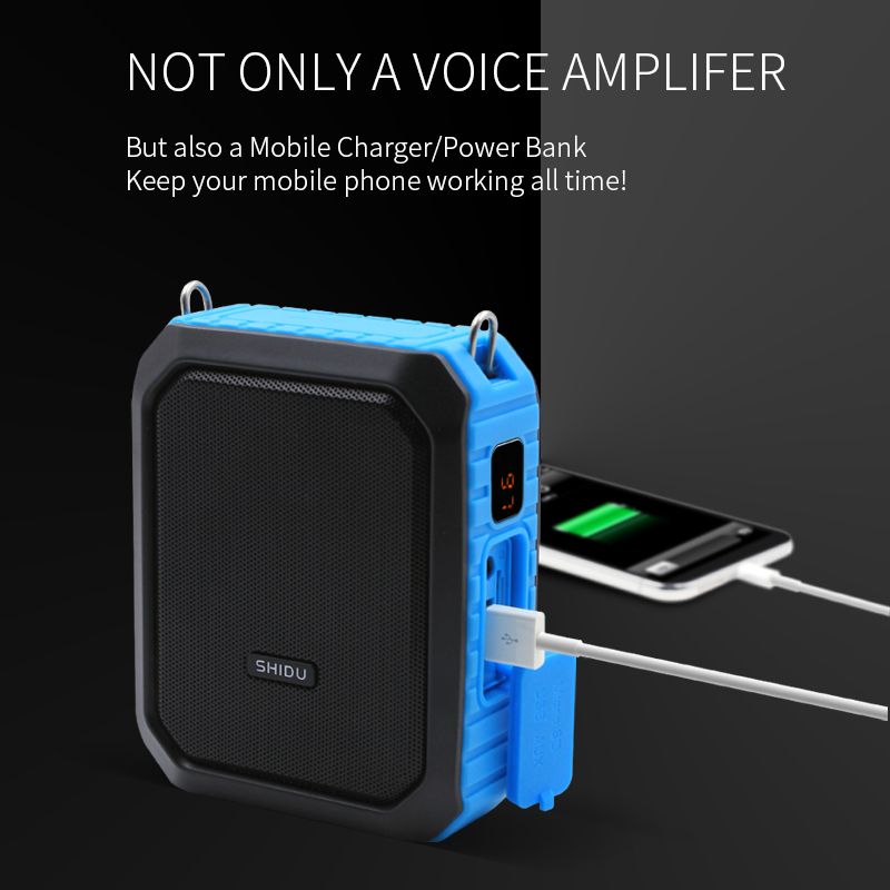China suppliers M800 Waterproof stereo power mini voice amplifier with headphone