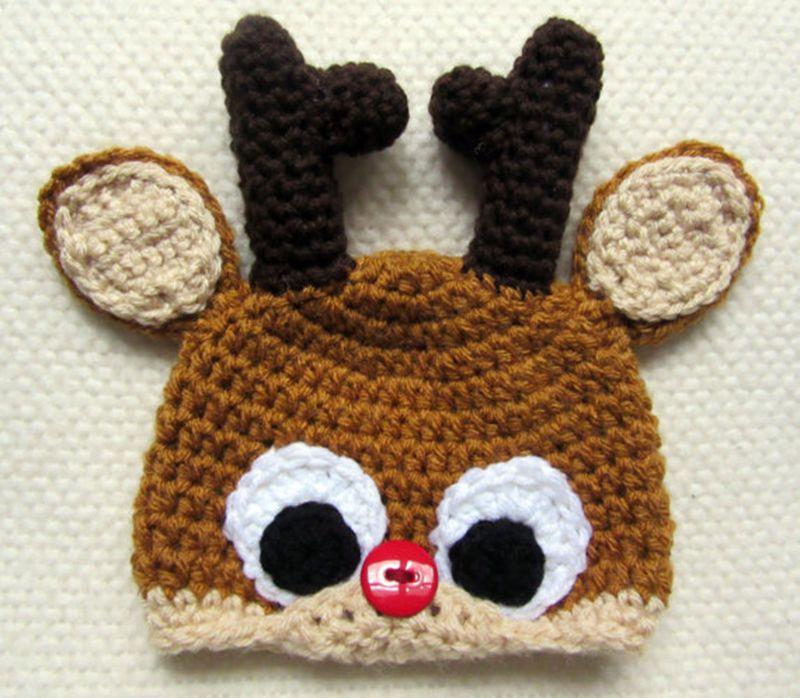 Venta al por mayor gorros a crochet de animales patrones-Compre ...