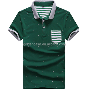 China Supplier High Quality Online Shopping Custom100% Cotton pique Men's Polo t shirt