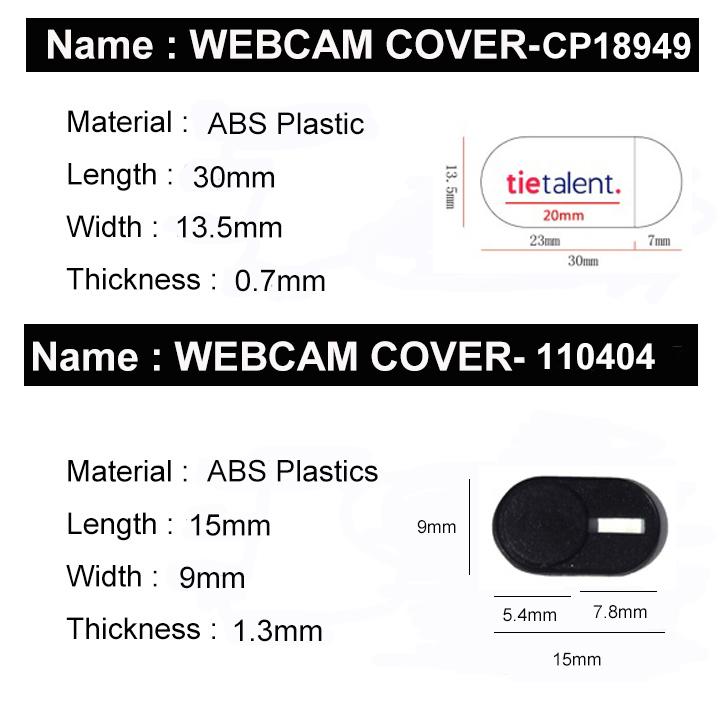 Nieuwe producten 2019 trending Webcam Cover Slider Webcam Privacy Cover voor laptops