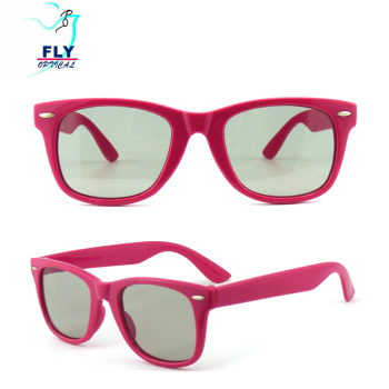 Colorful Frame Thickness Polarized Passive 3D Glasses High Quality IMAX cinema 3d glasses