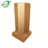 Wood Grain Aluminum Insert MDF Exhibition Display Stand