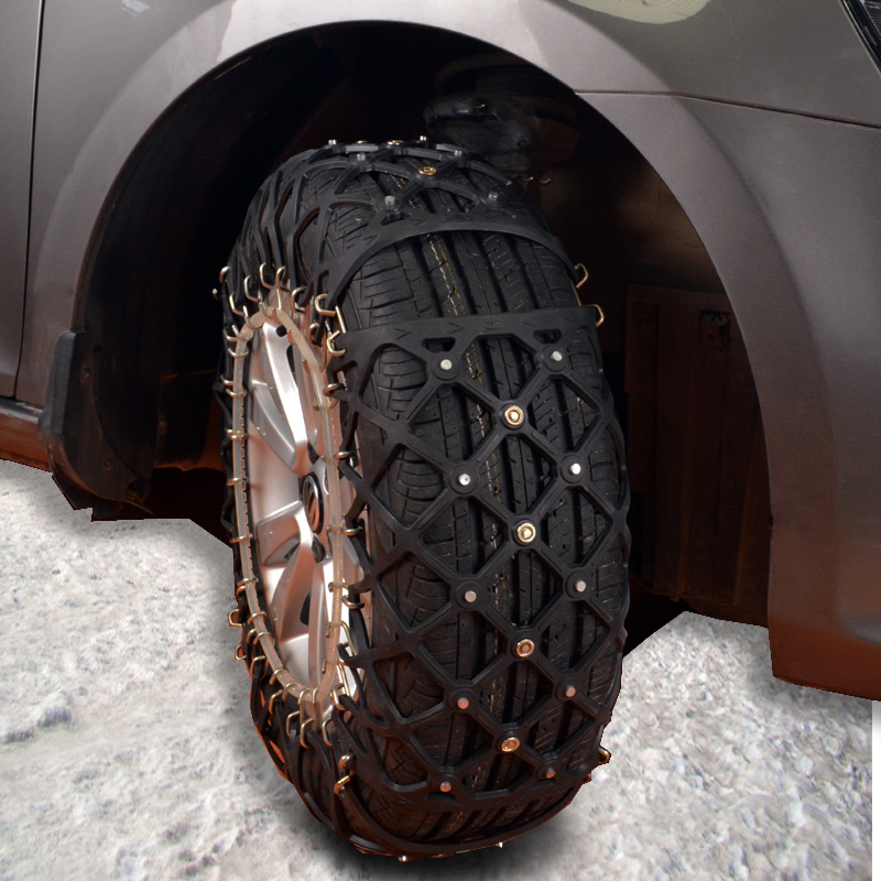thick rubber car tire chain snow chains tires car accessories anti skid in snow chains from. Black Bedroom Furniture Sets. Home Design Ideas
