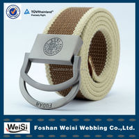2014 fashion jacquard men casual fabric webbing waist belt for dress