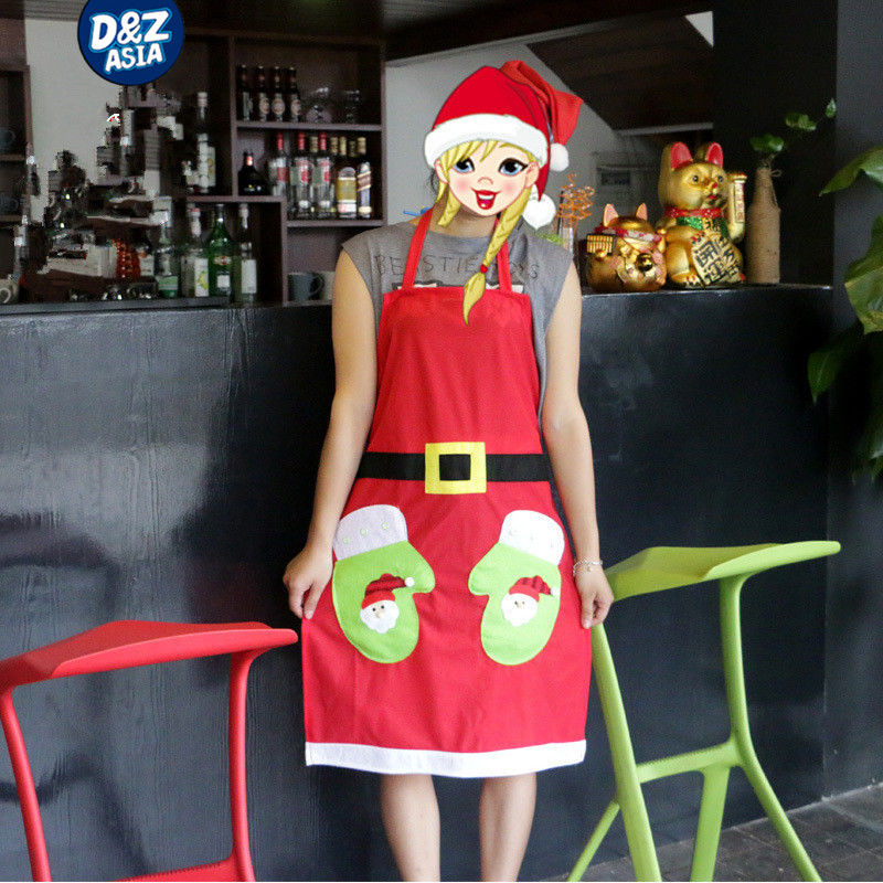 Christmas waitress clothes holiday clothing